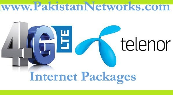 Telenor Internet Packages 2017