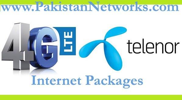 Telenor Internet Packages 2017