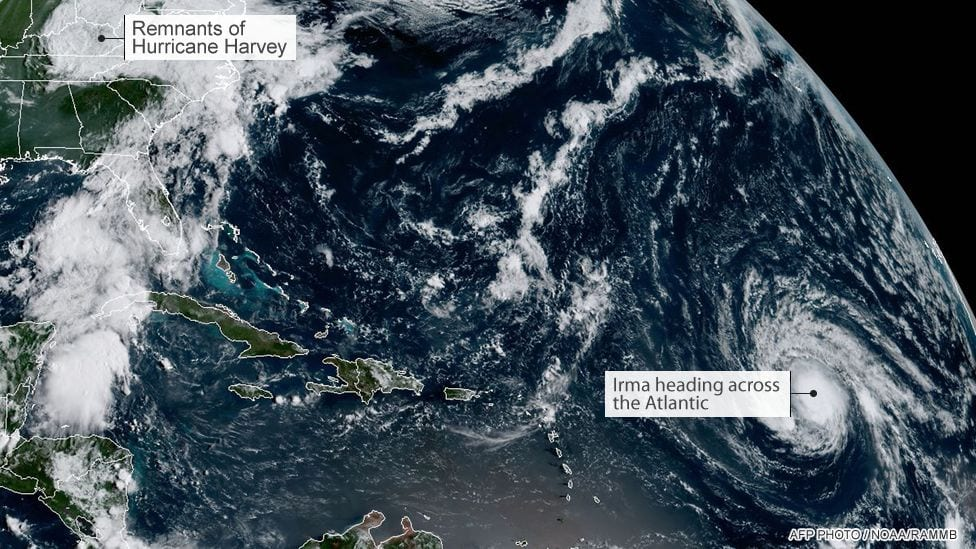 Hurricane Irma - Hits Florida and Warning for St.Lucie