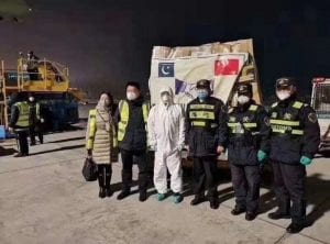 Medical relief supplies from Pakistan has been reached in China