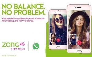 Zong Whatsapp Offer 2020