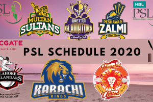 PSL 2020 Schedule