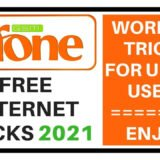 Ufone FREE Internet codes
